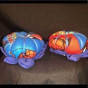 Handmade Spiderman pincushion